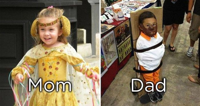 Moms Vs Dads As Parents