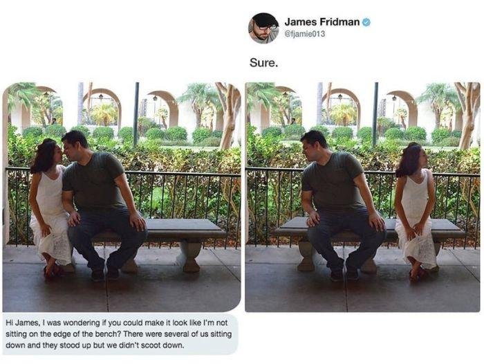 Photoshop Troll James Fridman Strikes Again