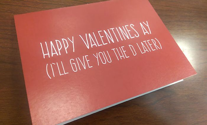 Funny Valentine's Day Gifts And Cards By People With An Unconventional Definition Of Romance