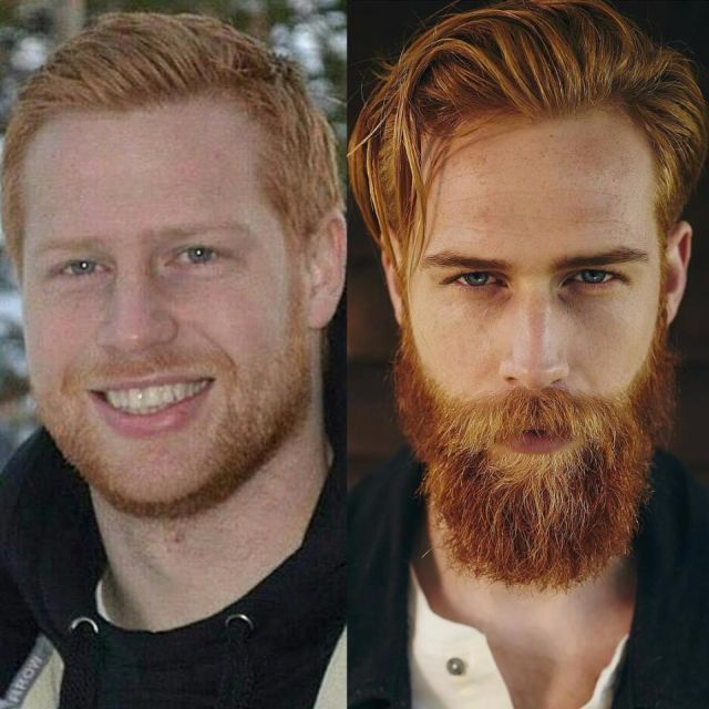 The Difference The Ginger Beard And Losing Weight Makes