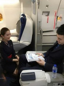 There Is Something Special About Flying With The First Class