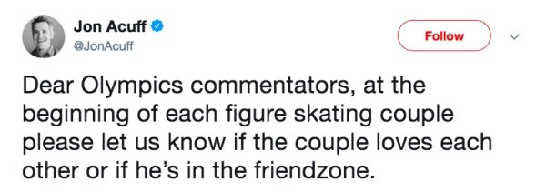 Winning Tweets From the Winter Olympics