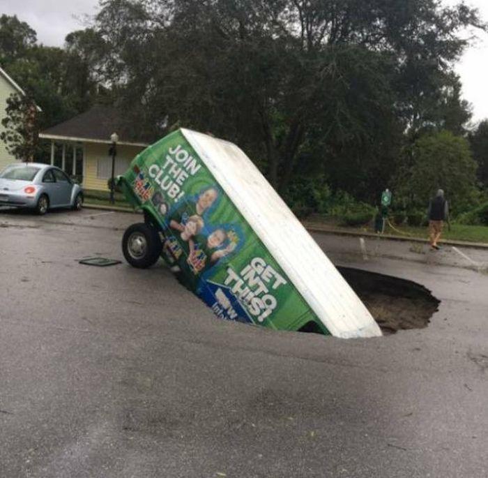 Unusual Car Accidents
