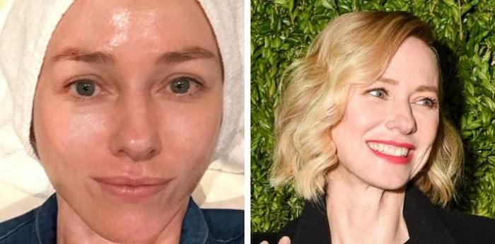 Unbelievable Photos Of Celebs With And Without Makeup