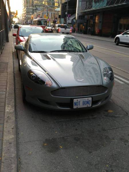 License Plates That Are Even Better Than The Cars