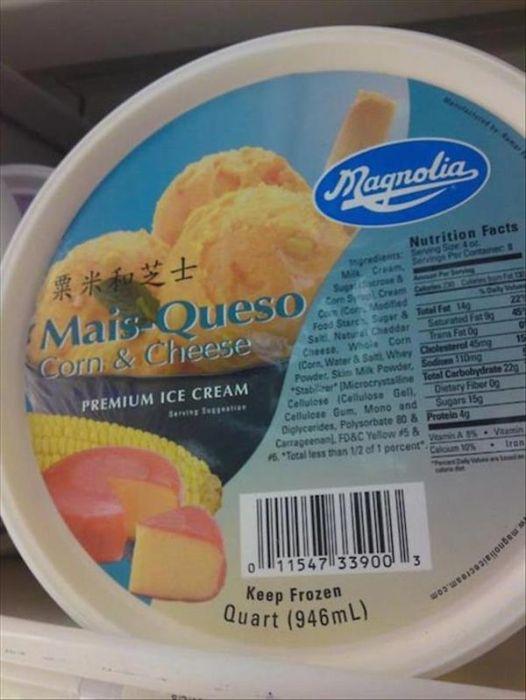 Very Strange Ice-cream Flavors