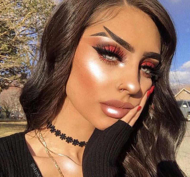 Fishtail Brow Is A New Trend