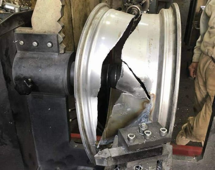 Repair Of A Wheel