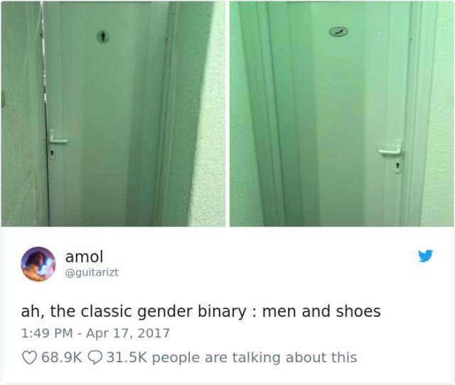 Some Strange Gender Stuff