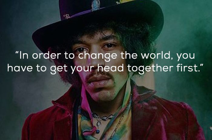 Quotes By Jimi Hendrix