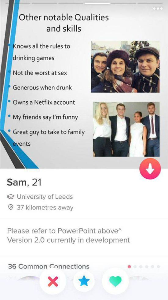 Guy Just Got An A+ For His Efforts On Tinder