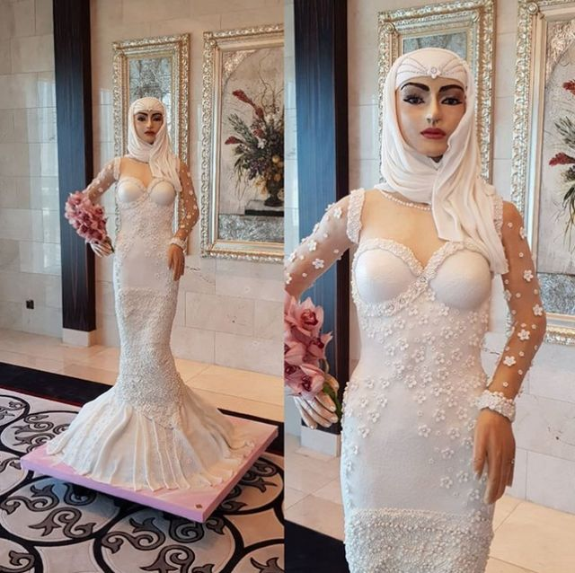 Bride Wedding Cake That Cost $1 Million