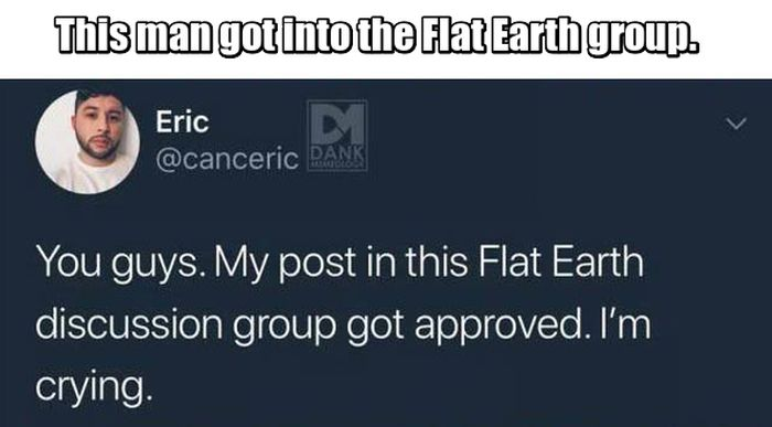 He Was Accepted Into Flat Earth Society Just To Troll Them
