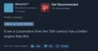 Funny Steam Game Reviews