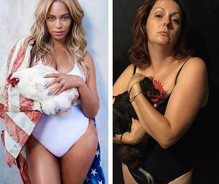 Funny Celebrity Instagram Recreations