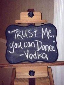 Funny Chalk Board Signs