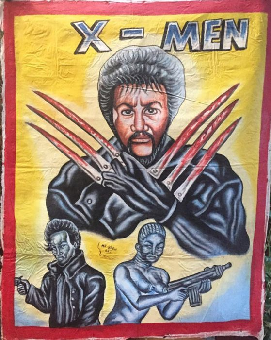 Hand Painted Movie Posters From Africa
