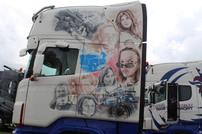 Truck Airbrushing