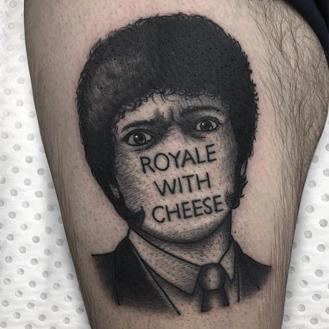 Stripped-Down Pop Culture Tattoos Of Jeremy D