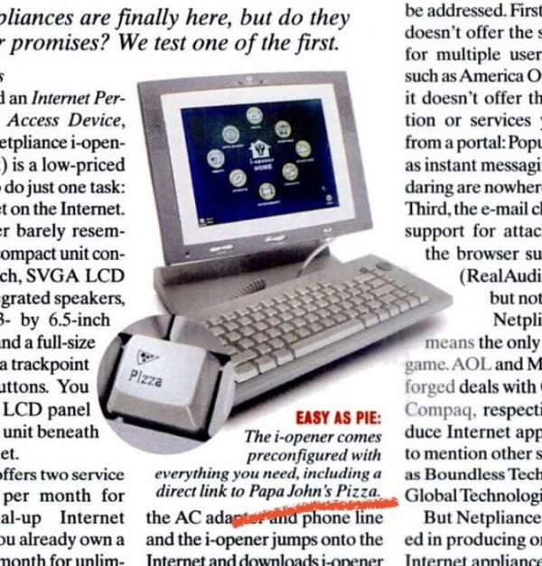 Priorities Of 2001, part 2001