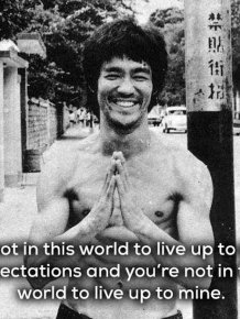 Inspiring Bruce Lee Quotes