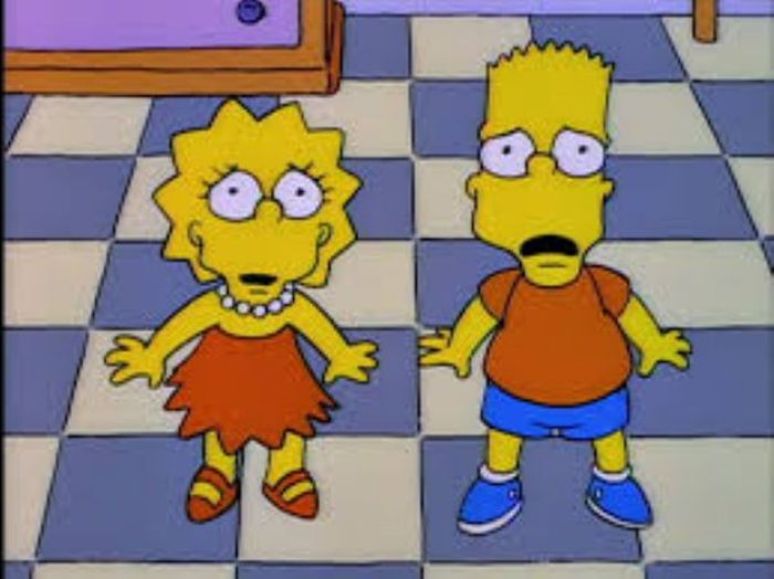Front-Facing 'Simpsons' Characters Will Leave You Horrified