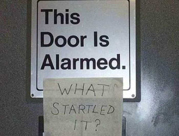 Messing With Signs