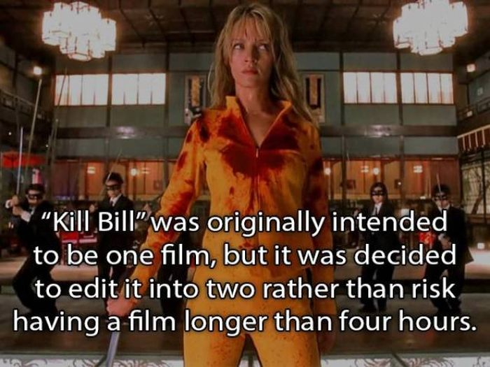 "Interesting Facts About ""Kill Bill"" Movies"