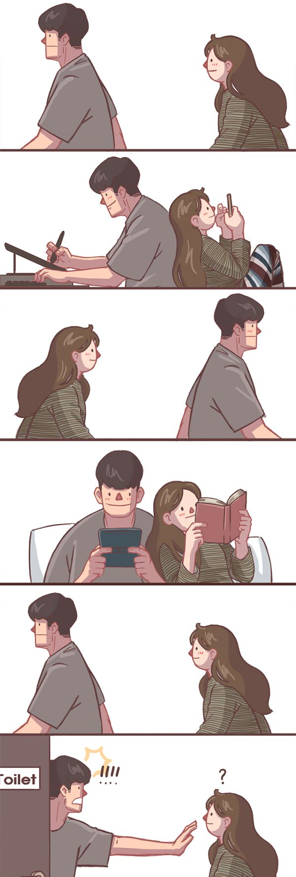 Comics About Relationship