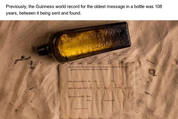 132-Year-Old Message