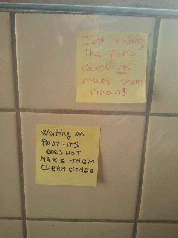 Passive Aggression Notes From Roommates