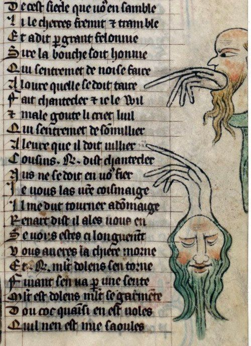 Notes On The Fields Of Medieval Books