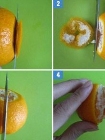 Easy Way To Peel Orange