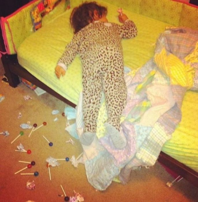 Kids Are Disaster, part 2