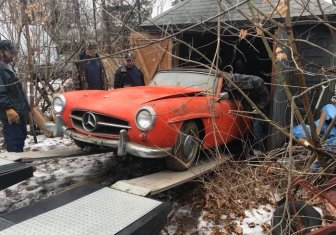 This Mercedes-Benz Was Forgotten For 40 Years