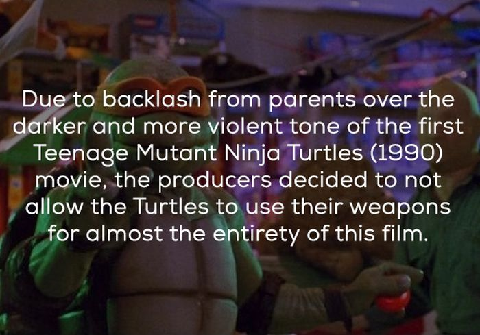 Facts About TMNT II: The Secret of the Ooze