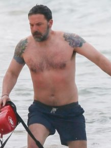 Ben Affleck's Unintentionally Hilarious Back Tattoo