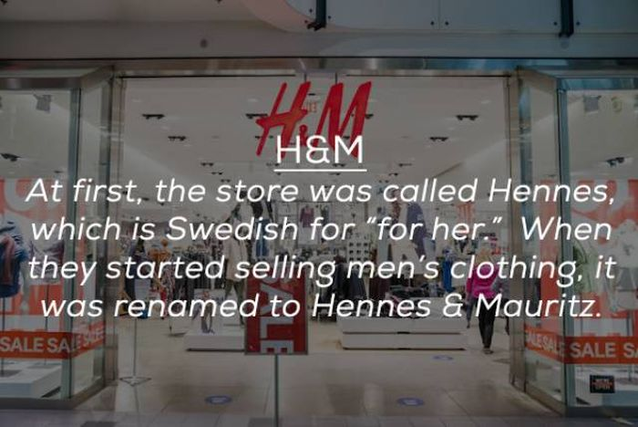 These Brands Are Named With Acronyms. But You Never Knew It