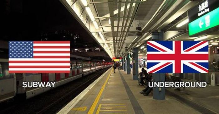 The Difference Between British And American English