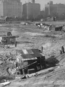 Central Park During The Great Depression And Now