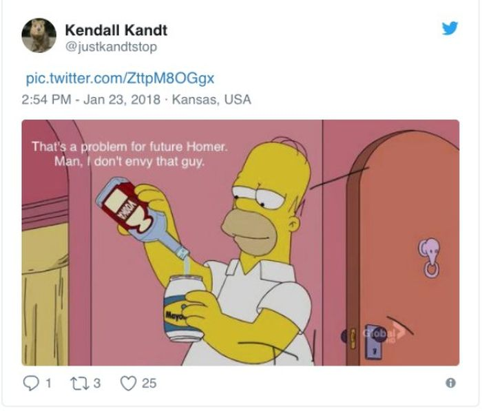 People Talk About Their Lives Using The Simpsons Screenshots
