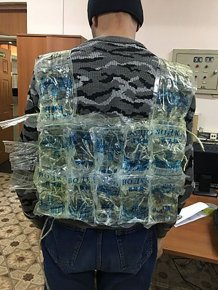 Man Tries To Smuggle 12 Litres of Vodka Into Russia