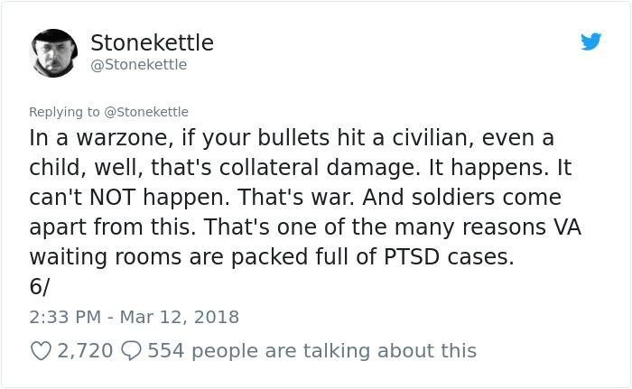 Veteran's Rant About Arming Teachers