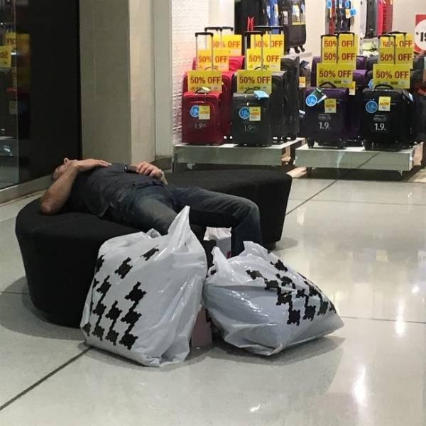 Men Hate Shopping