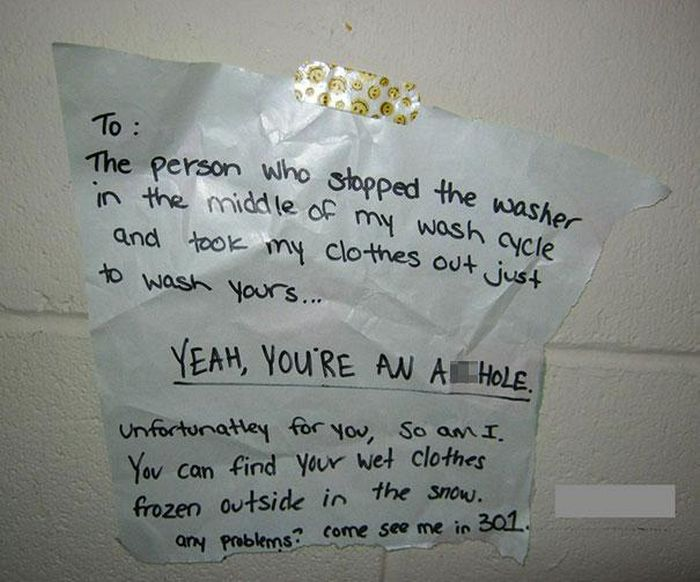Passive-Aggressive Disputes By Neighbors