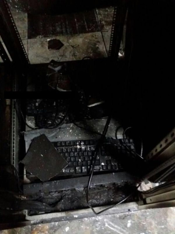 Destroyed Servers