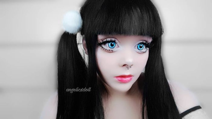 A Girl That Looks Like A Doll