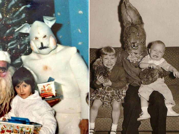 Scary Easter Bunnies