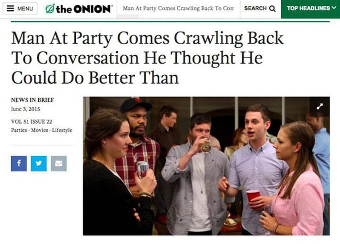 "Funny ""The Onion"" Headlines"