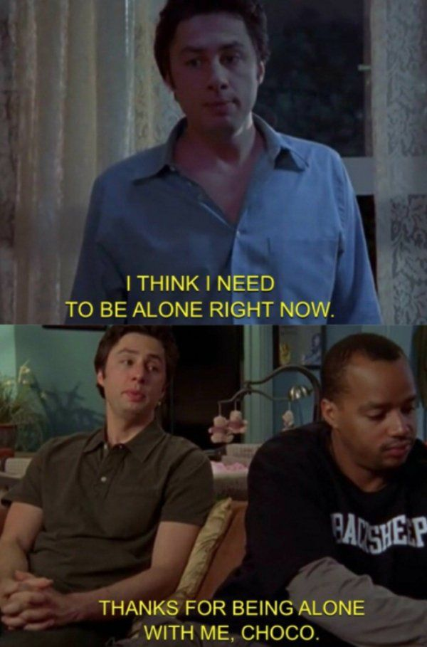 Scrubs' Bromance Was Like No Other